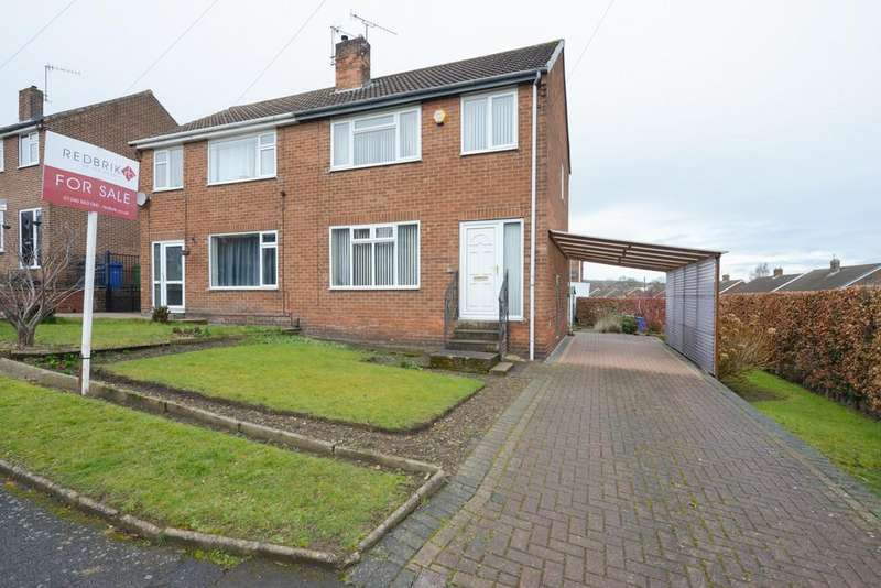 3 Bedrooms Semi Detached House for sale in Greenside Avenue, Newbold, Chesterfield