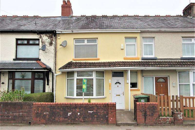 3 Bedrooms Terraced House for sale in Bedwas Road, Caerphilly, Caerphilly. CF83 3AW