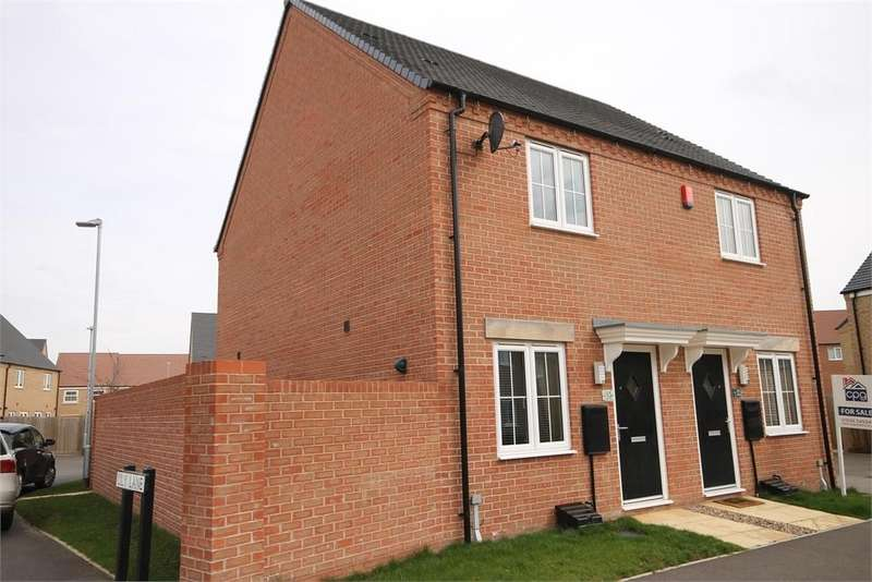 2 Bedrooms Semi Detached House for sale in Lily Lane, Newark, Nottinghamshire. NG24 2RG