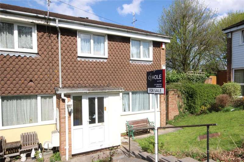 3 Bedrooms End Of Terrace House for sale in Dundas Close, Henbury, Bristol, BS10