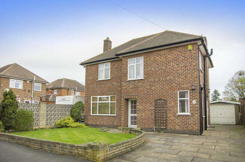 3 Bedrooms Detached House for sale in RIDGEWAY AVENUE, LITTLEOVER