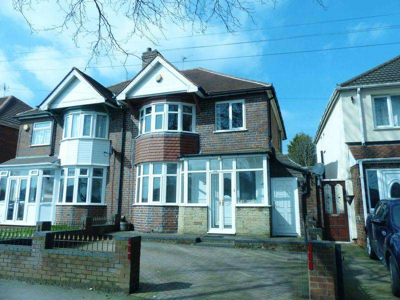 3 Bedrooms Semi Detached House for sale in Kingstanding Road, Birmingham