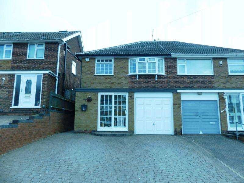 3 Bedrooms Semi Detached House for sale in Wideacre Drive, Great Barr