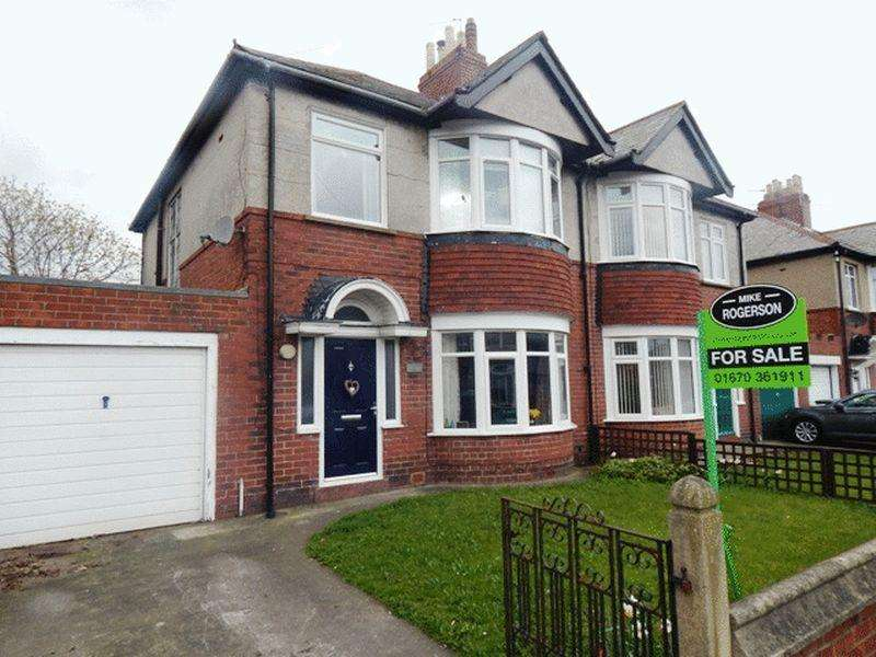 3 Bedrooms Semi Detached House for sale in Traditonal Style Semi 1950s : Cypress Gardens, Blyth Northumberland