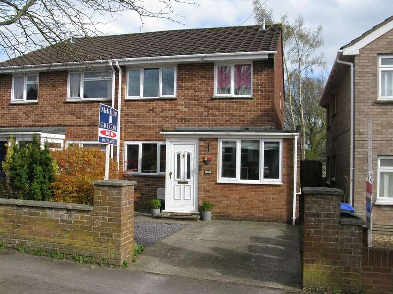 3 Bedrooms Semi Detached House for sale in QUEEN ALEXANDRA ROAD, SALISBURY, WILTSHIRE, SP2 9LN