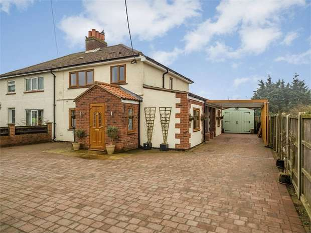 3 Bedrooms Semi Detached House for sale in Fakenham Road, Briston, Melton Constable, Norfolk