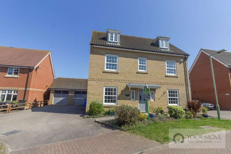 5 Bedrooms Detached House for sale in Yewdale, Carlton Colville, Lowestoft, NR33