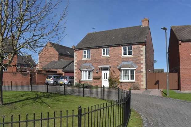 4 Bedrooms Detached House for sale in Lexington Close, Walton Cardiff, Tewkesbury, Gloucestershire