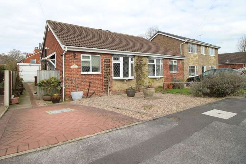 2 Bedrooms Semi Detached Bungalow for sale in Garden Close, Ossett, WF5