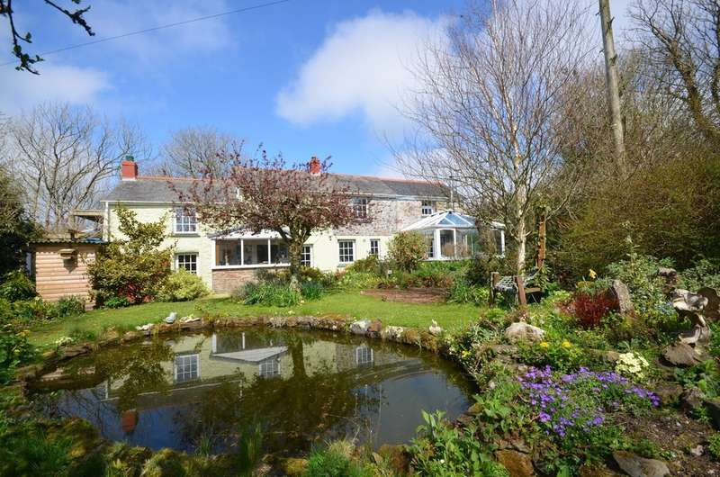 4 Bedrooms Farm House Character Property for sale in Wheal Rose