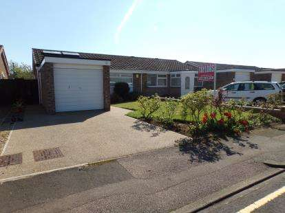 2 Bedrooms Bungalow for sale in Lydford Close, Devon Park, Bedford, Bedfordshire