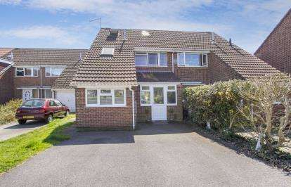 4 Bedrooms Semi Detached House for sale in Muscliff, Bournemouth, Dorset