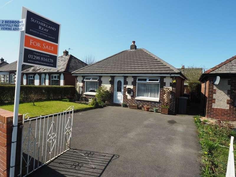2 Bedrooms Detached Bungalow for sale in Longson Road, Chapel-en-le-Frith, High Peak, Derbyshire, SK23 0NS