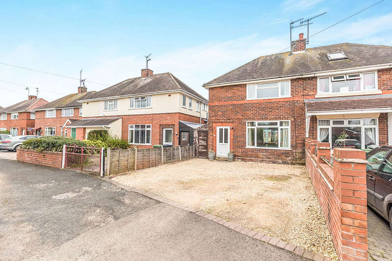3 Bedrooms Semi Detached House for sale in Gilmour Crescent, Worcester, WR3