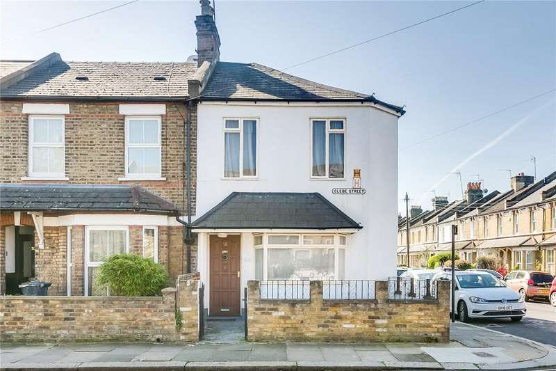 3 Bedrooms End Of Terrace House for sale in Glebe Street, Chiswick, London