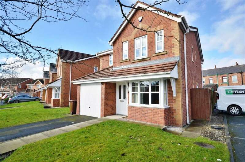4 Bedrooms Detached House for sale in Meadowfield, Hindley Green