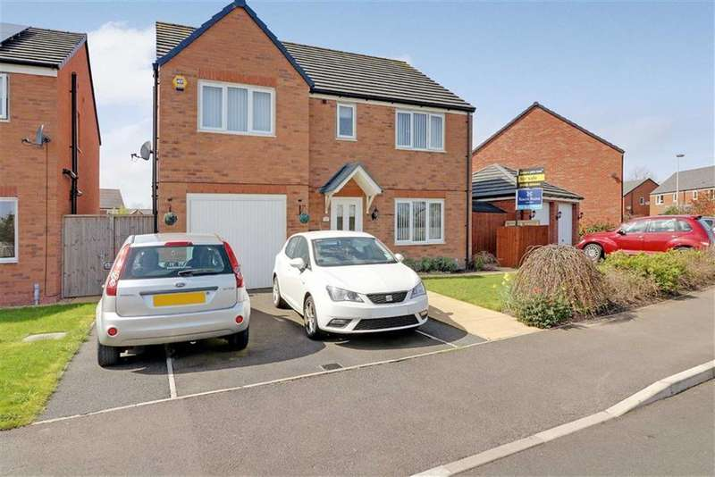 5 Bedrooms Detached House for sale in Jubilee Pastures, Middlewich, Cheshire