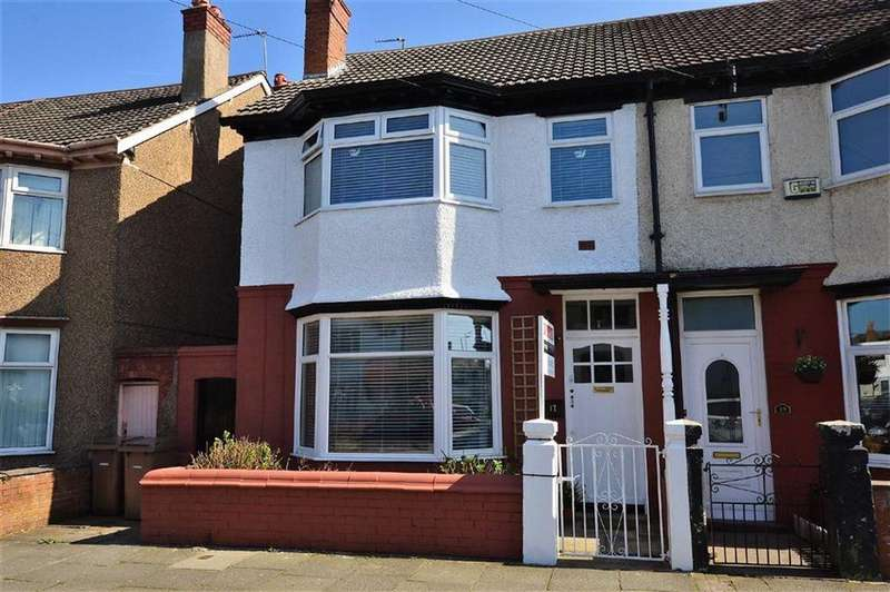4 Bedrooms Semi Detached House for sale in Daresbury Road, CH44