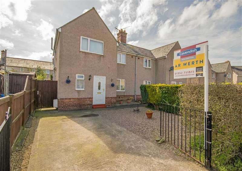 3 Bedrooms Semi Detached House for sale in Broncoed Park, Mold, Mold