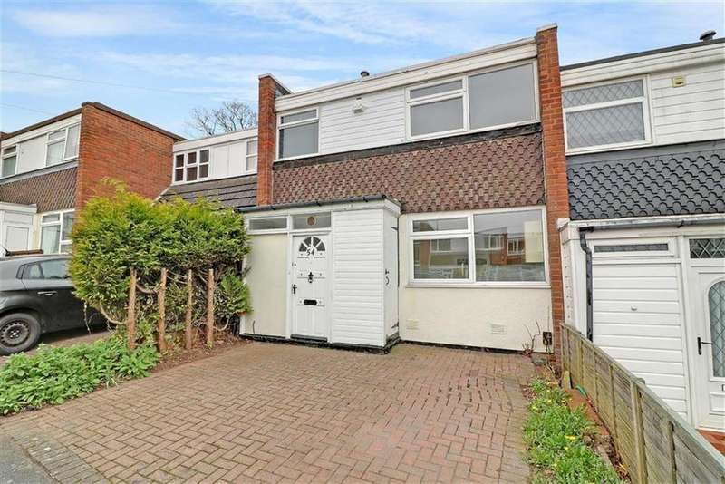 3 Bedrooms Terraced House for sale in Gilbert Road, Lichfield, Staffordshire