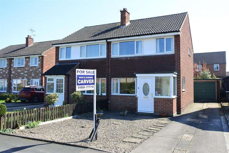 3 Bedrooms Semi Detached House for sale in Chantry Road, Northallerton