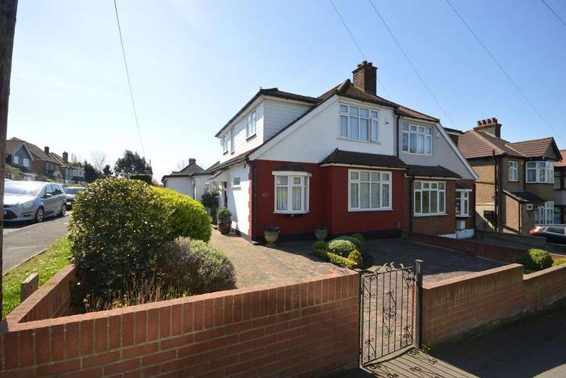 3 Bedrooms Semi Detached House for sale in Shepherds Hill, Harold Wood, Harold HIll, Essex, RM3
