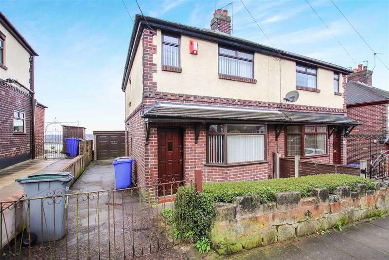 3 Bedrooms Semi Detached House for sale in Barber Road, Chell, Stoke-On-Trent, Staffs