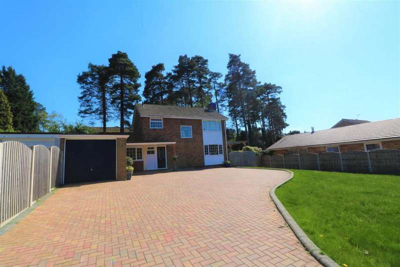 3 Bedrooms Detached House for sale in Clewborough Drive, Camberley, GU15