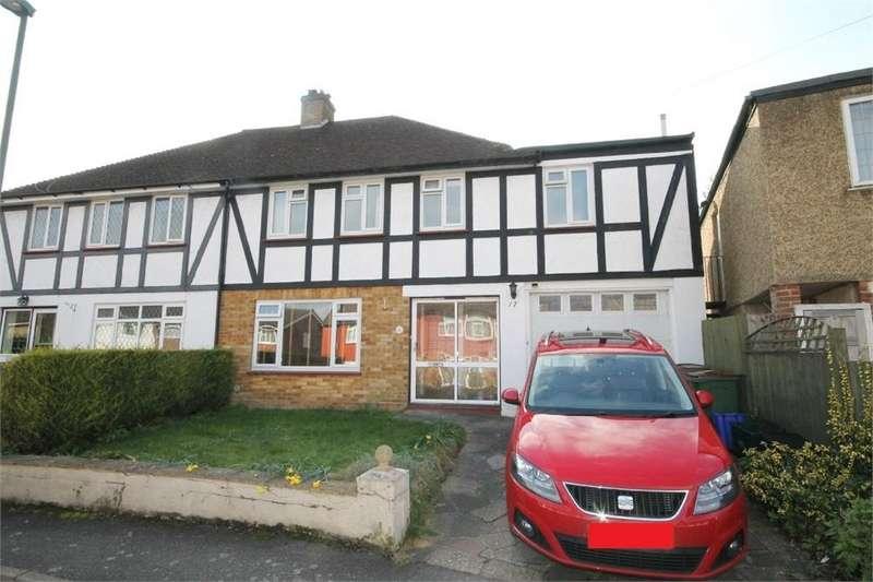 4 Bedrooms Semi Detached House for sale in Gauntlett Road, SUTTON, Surrey