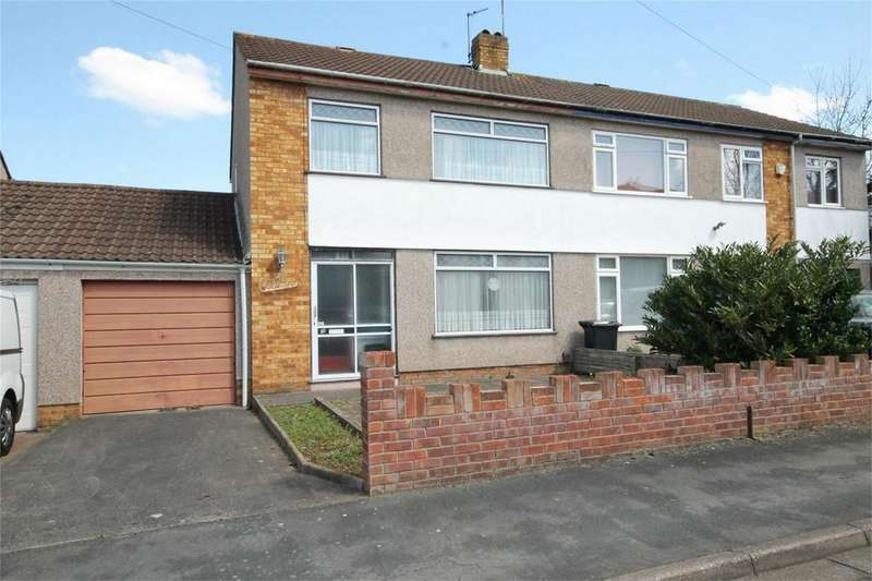 3 Bedrooms Semi Detached House for sale in Grange Drive, Downend, Bristol