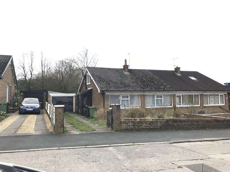 2 Bedrooms Semi Detached Bungalow for sale in Alice Street, Oswaldtwistle.