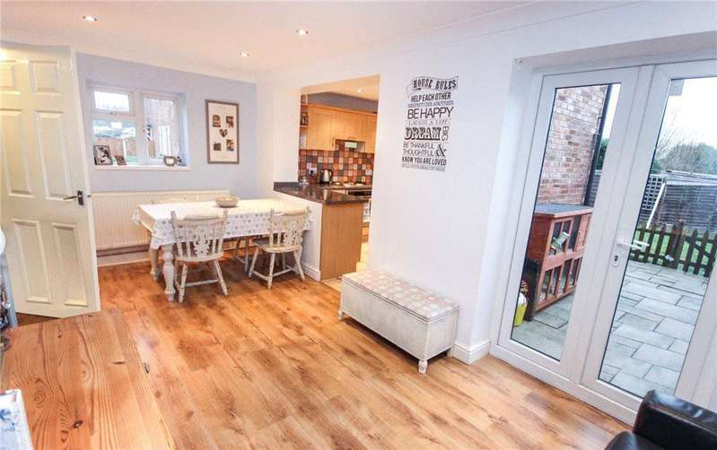 3 Bedrooms End Of Terrace House for sale in Hill View, Defford, Worcester, Worcestershire, WR8