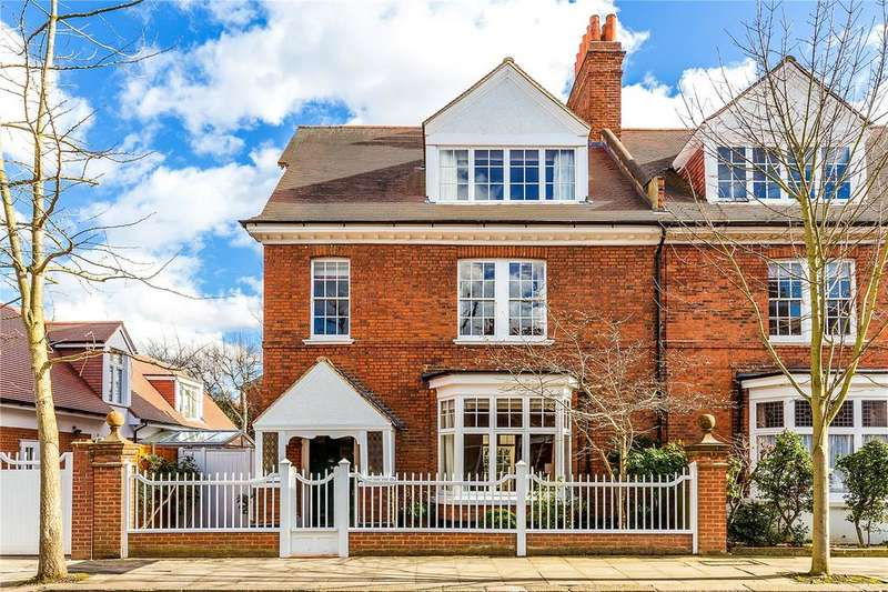 6 Bedrooms Semi Detached House for sale in Marlborough Crescent, Bedford Park, Chiswick, W4