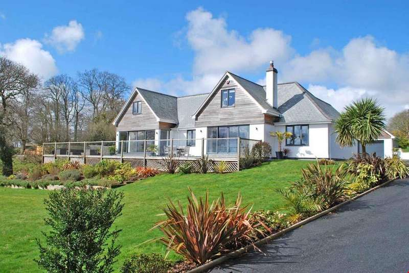 5 Bedrooms Detached House for sale in Feock, Nr. Truro, South Cornwall, TR3