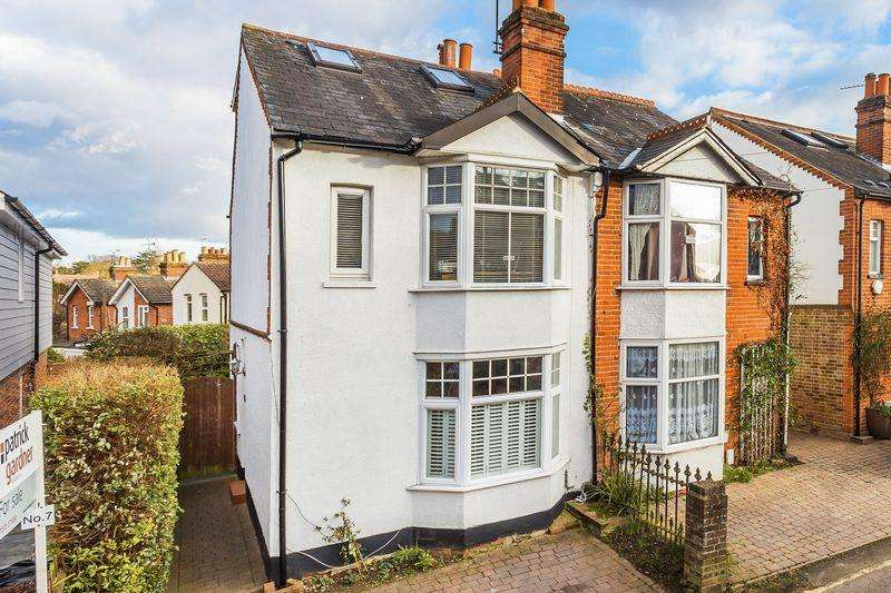 3 Bedrooms Semi Detached House for sale in Contemporary Edwardian 3 double bedroom home with 2 reception rooms in desirable Ashtead Village