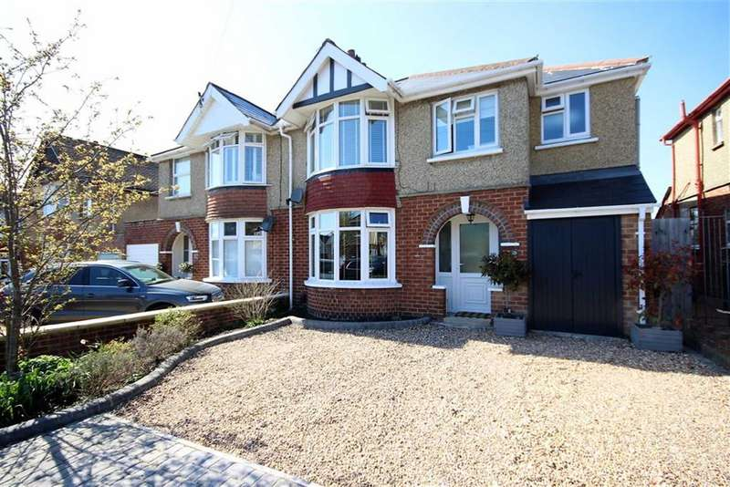4 Bedrooms Semi Detached House for sale in Tismeads Crescent, Old Town, Swindon