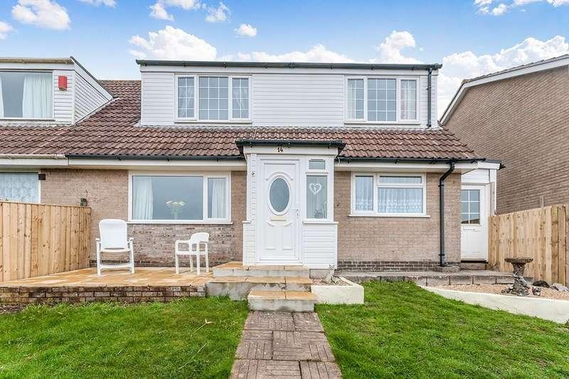 3 Bedrooms Semi Detached House for sale in Polgrain Road, Tolvaddon, Camborne, TR14