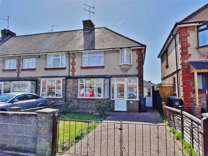 3 Bedrooms End Of Terrace House for sale in Marlowe Road, Broadwater, Worthing, BN14