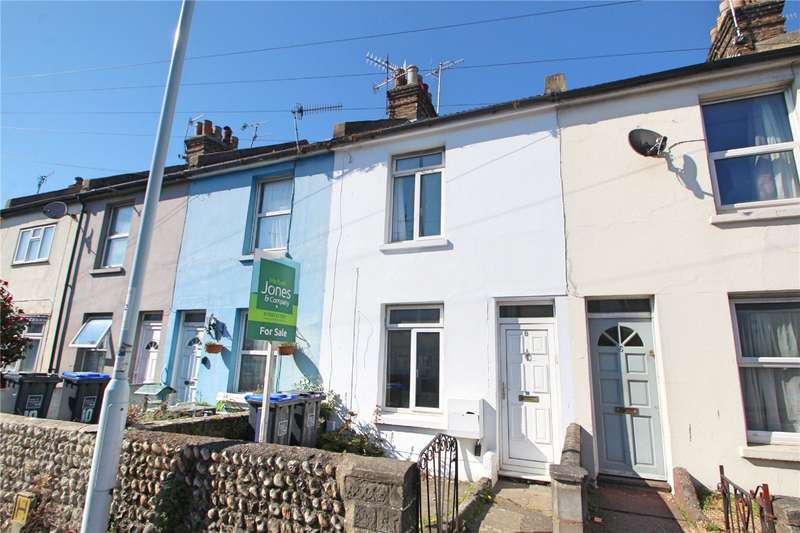 2 Bedrooms Terraced House for sale in Tarring Road, Worthing, West Sussex, BN11