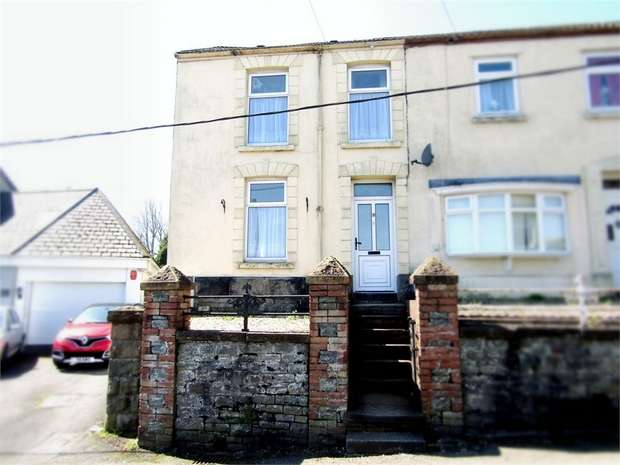 3 Bedrooms Semi Detached House for sale in Bank Road, Llangennech, Llanelli, Carmarthenshire