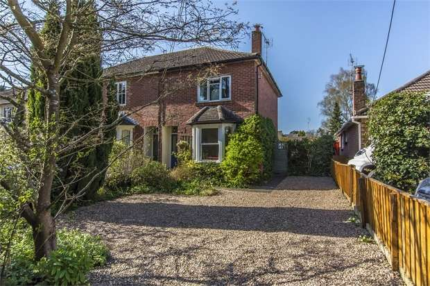 3 Bedrooms Semi Detached House for sale in Common Road, Chandler's Ford, Eastleigh, Hampshire