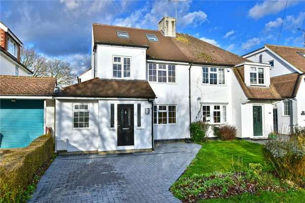 4 Bedrooms Semi Detached House for sale in 185 The Parkway, IVER, Buckinghamshire
