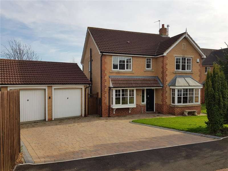 4 Bedrooms Detached House for sale in Abbots Green, Low Willington, Durham, DL15