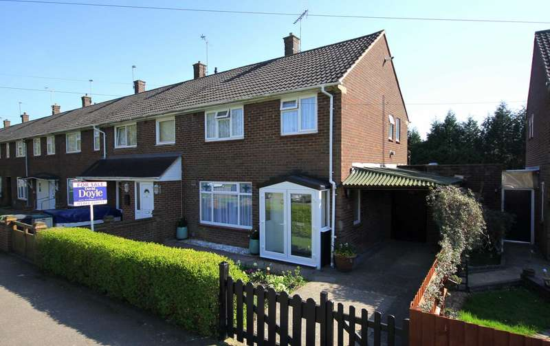 3 Bedrooms End Of Terrace House for sale in RECENTLY REFURBISHED - Approx 75` REAR GARDEN, WORKSHOPS, HP2