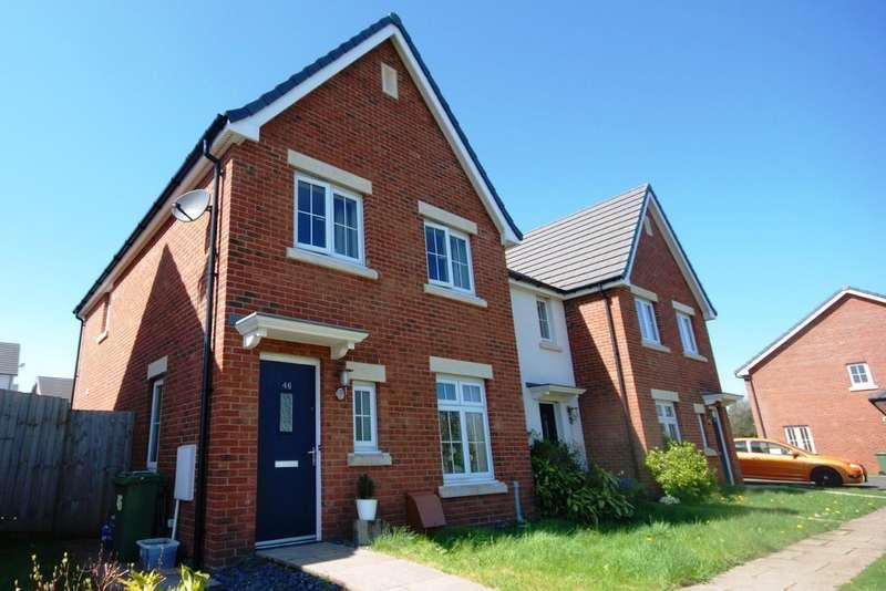 3 Bedrooms End Of Terrace House for sale in Bryn Celyn, Llanharry, Rhondda Cynon Taff, CF72 9ZE