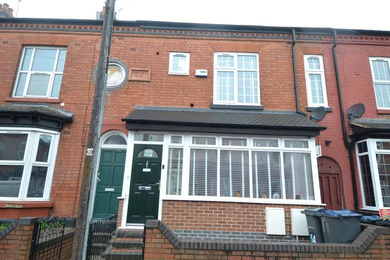 4 Bedrooms Terraced House for sale in Dolphin Road, Sparkhill, Birmingham, B11