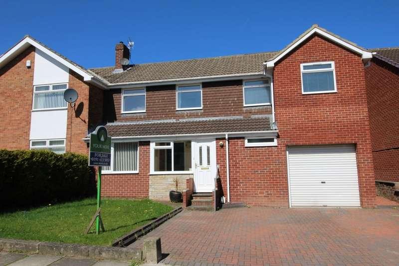 4 Bedrooms Semi Detached House for sale in Grange Drive, Ryton, NE40