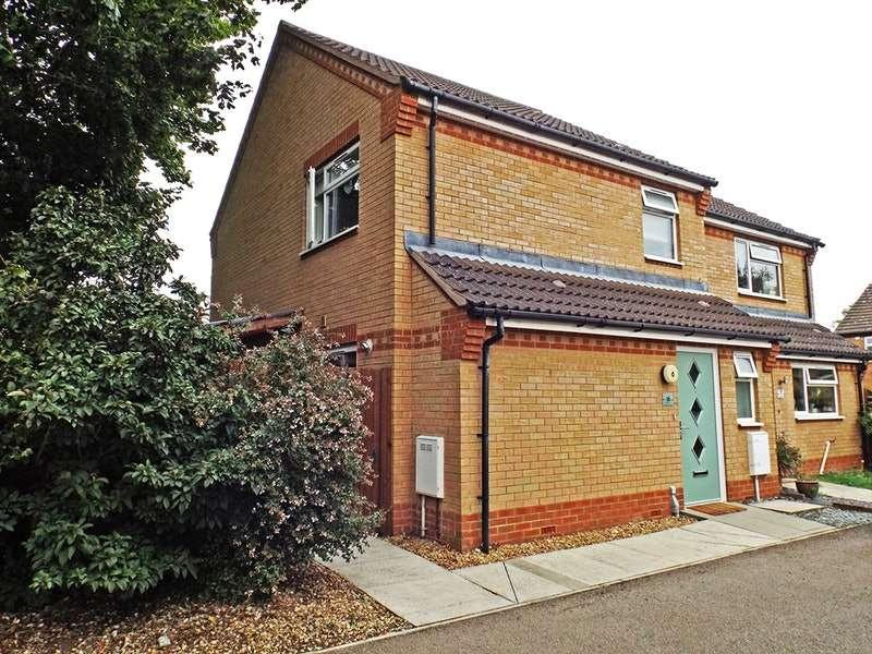 3 Bedrooms Semi Detached House for sale in Jubilee Close, Brampton, Cambridgeshire, PE28