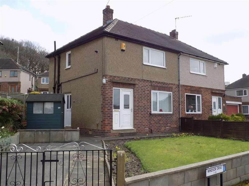 2 Bedrooms Semi Detached House for sale in Windsor Drive, Dalton, Huddersfield, HD5
