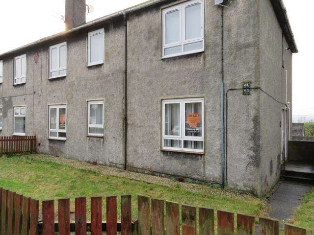 3 Bedrooms Ground Flat for sale in Arran Drive, Auchinleck KA18